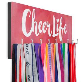 Cheerleading Hooked on Medals Hanger - Cheer Life