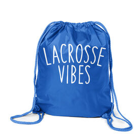 Girls Lacrosse Sport Pack Cinch Sack - Lacrosse Vibes