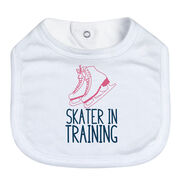 Figure Skating Baby Bib - Skater In Training