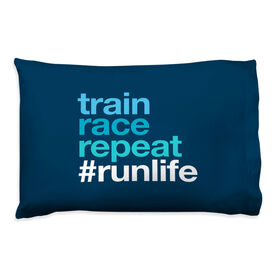 Running Pillow Case - Train Race Repeat