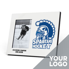 Hockey Photo Frame - Custom Logo