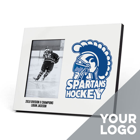Hockey Photo Frame - Custom Logo