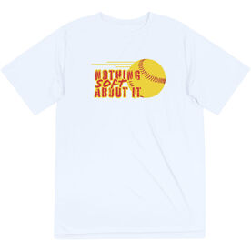 Softball Short Sleeve Performance Tee - Nothing Soft About It