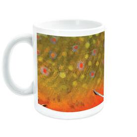Fly Fishing Coffee Mug Brook Trout