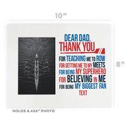 Crew Photo Frame - Dear Dad