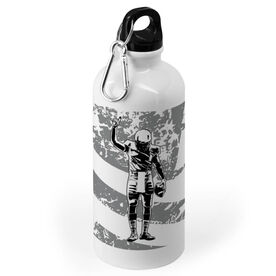Football 20 oz. Stainless Steel Water Bottle - Number One Player One