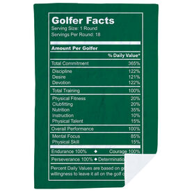 Golf Premium Blanket - Golfer Facts