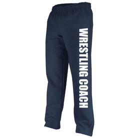 Wrestling Fleece Sweatpants Wrestling Coach