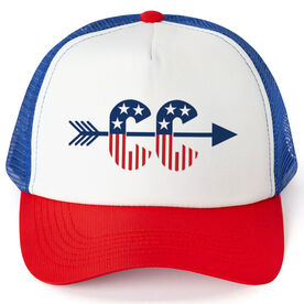 Cross Country Trucker Hat - Patriotic Cross Country