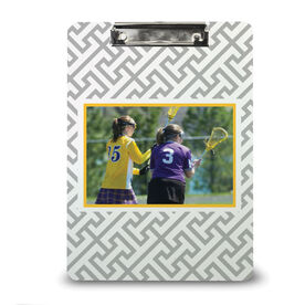 Girls Lacrosse Custom Clipboard Lacrosse Your Photo