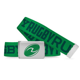 Rugby Lifestyle Belt Rugby Word