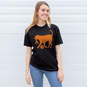 Basketball Tshirt Short Sleeve Baxter The Basketball Dog