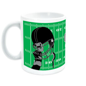 Football Coffee Mug Gametime Helmet
