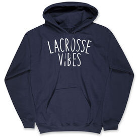 Girls Lacrosse Standard Sweatshirt - Lacrosse Vibes
