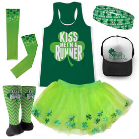 Kiss Me I'm A Runner Running Outfit