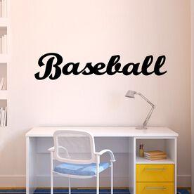 Varsity Baseball Removable ChalkTalkGraphix Wall Decal
