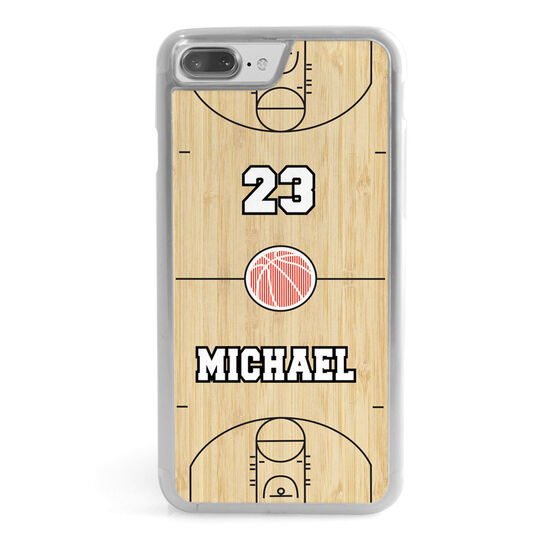 Basketball iPhone® Case - Court