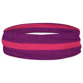 Multifunctional Headwear - Purple Stripe RokBAND