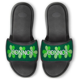 Personalized For You Repwell™ Slide Sandals - Shamrocks