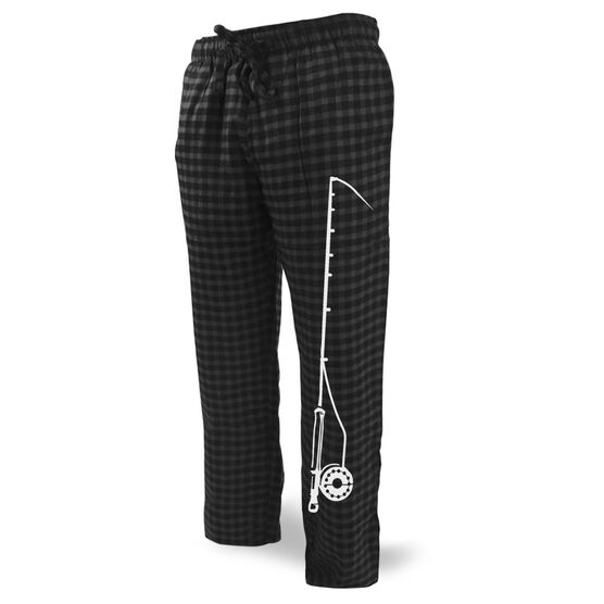 Fly Fishing Lounge Pants Fishing Rod