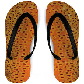 Fly Fishing Flip Flops Brown Trout