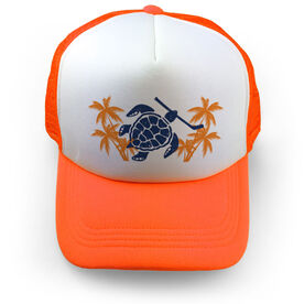 Hockey Trucker Hat Turtle