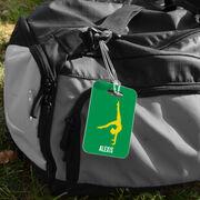 Gymnastics Bag/Luggage Tag - Personalized Gymnast Girl