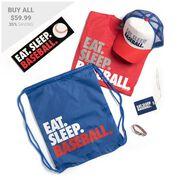 Baseball Swag Bagz - Eat. Sleep. Baseball
