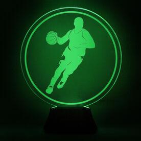 Basketball Acrylic LED Lamp B-Ball Guy