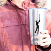 Golf 20 oz. Double Insulated Tumbler - Male Silhouette
