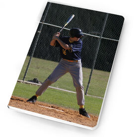 Baseball Notebook Custom Photo