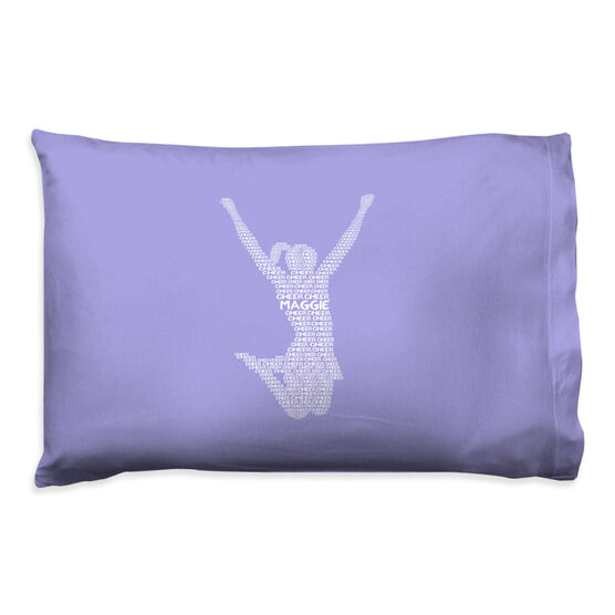 Cheerleading Pillowcase - Personalized Cheer Words