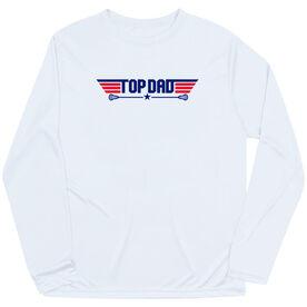 Guys Lacrosse  Long Sleeve Performance Tee - Top Dad Guys Lacrosse