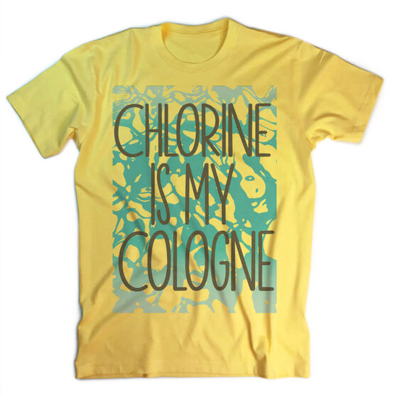 Vintage Swimming T-Shirt - Chlorine Is My Cologne