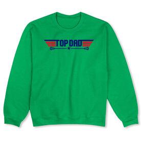 Guys Lacrosse Crew Neck Sweatshirt - Top Dad Guys Lacrosse
