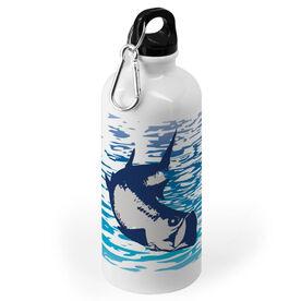 Fly Fishing 20 oz. Stainless Steel Water Bottle - Watercolor Tarpon