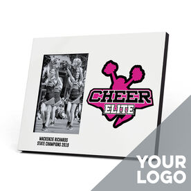Cheerleading Photo Frame - Custom Logo