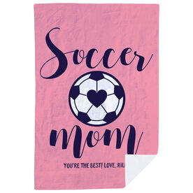 Soccer Premium Blanket - Soccer Mom