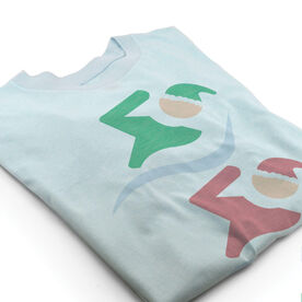 Vintage Swimming T-Shirt - North Pole Swimmer