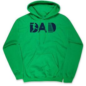 Soccer Hooded Sweatshirt - Soccer Dad Silhouette