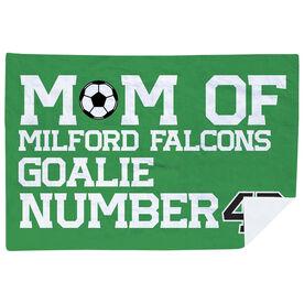 Soccer Premium Blanket - Personalized Soccer Mom