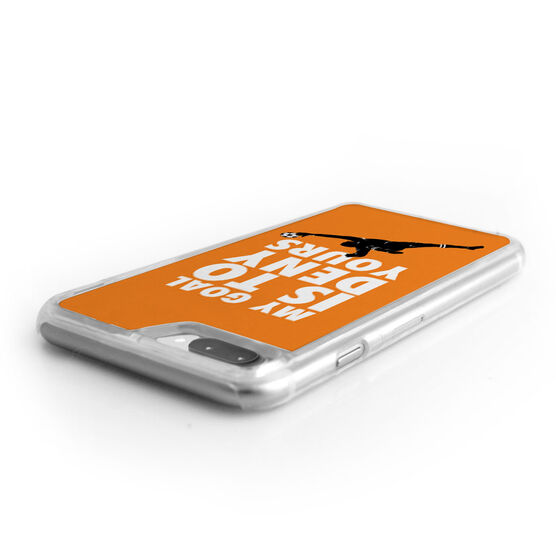 Soccer iPhone® Case - My Goal Is To Deny Yours Goalie