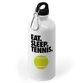 Tennis 20 oz. Stainless Steel Water Bottle - Eat. Sleep. Tennis.