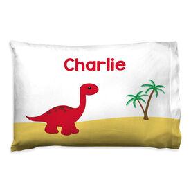 Personalized Pillowcase - Dinosaur