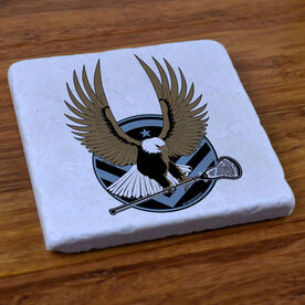 LAX Strong - Stone Coaster