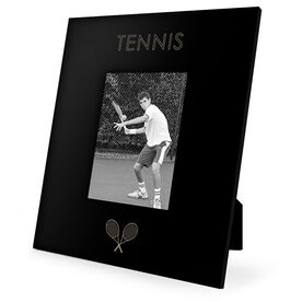 Tennis Engraved Picture Frame - Simple Tennis