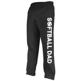 Softball Fleece Sweatpants Softball Dad