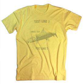 Vintage Fly Fishing T-Shirt - Personalized Bonefish
