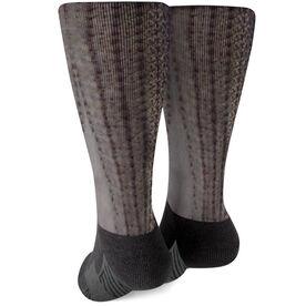 Fly Fishing Printed Mid-Calf Socks - Striper