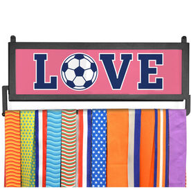 AthletesWALL Medal Display - Soccer Love